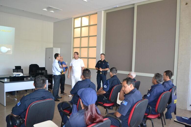 Guarda Civil de Ibaté passa por Ciclo de Palestras Educacionais - Crédito: Divulgação