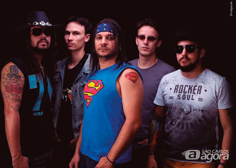Banda Captain Crash chega com rock de peso no Sesi São Carlos - Crédito: Divulgação