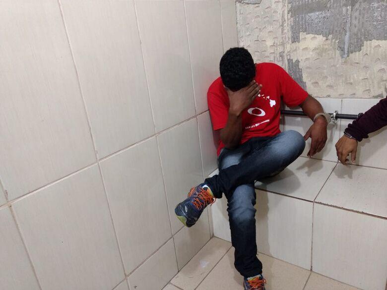 Procurado pela Justiça é preso no Jardim Popular em Ibaté - Crédito: Luciano Lopes