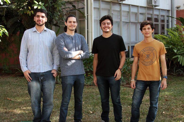 Estudantes do ICMC participam de competição internacional de ciência de dados - Crédito: Divulgação