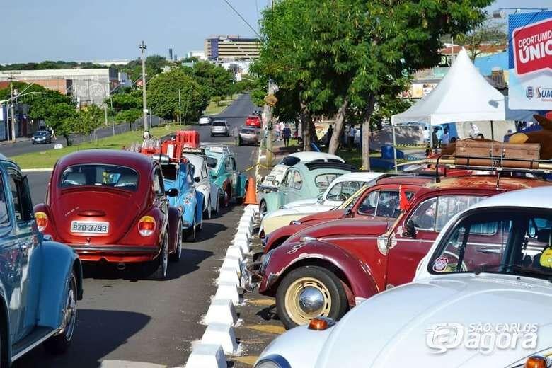Encontro de Fuscas acontece neste domingo em São Carlos - Crédito: Divulgação