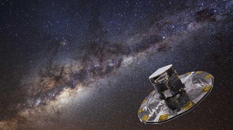 """Missão espacial """"Gaia"""": uma nova era da Astronomia - Crédito: Divulgação"""