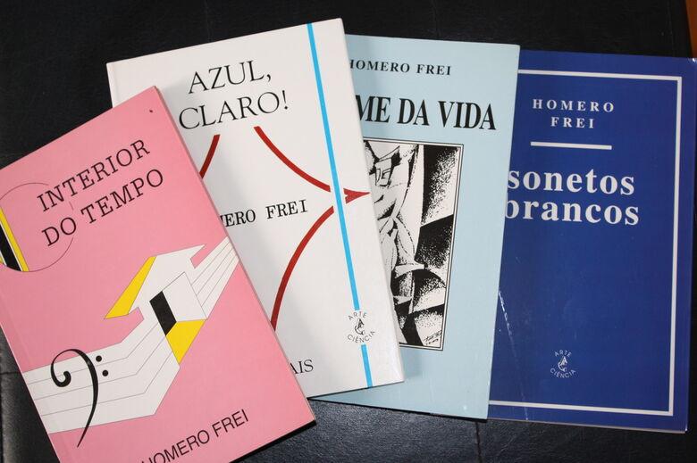 """Homero Frei, """"poeta do Brasil"""" - Crédito: Divulgação"""