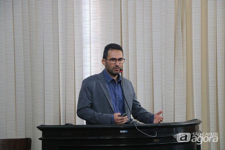 Audiência Pública realizada na sala das sessões da Câmara debateu plano de desenvolvimento do campus do IFSP - Crédito: Divulgação