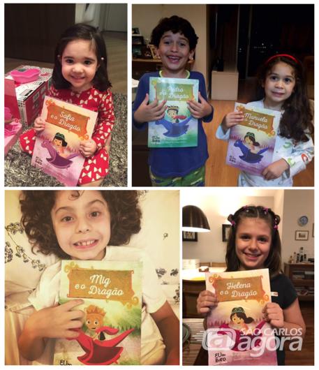 EUnoLIVRO transforma crianças, papais, vovós em personagens de livro - Crédito: Divulgação