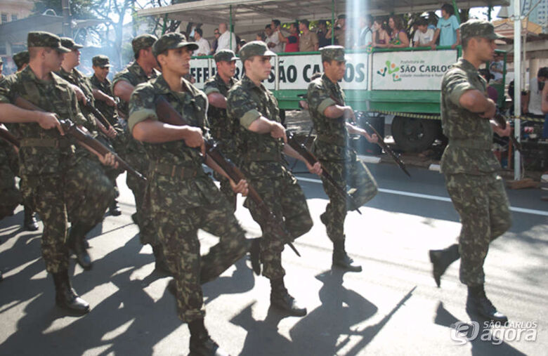 São Carlos não terá desfile cívico-militar de 7 de Setembro - Crédito: Arquivo/SCA