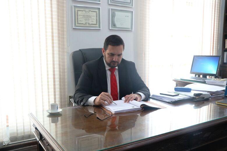 Vereador Julio Cesar, presidente da Câmara: denúncia do MP contra prefeito será levada ao Plenário - Crédito: Divulgação