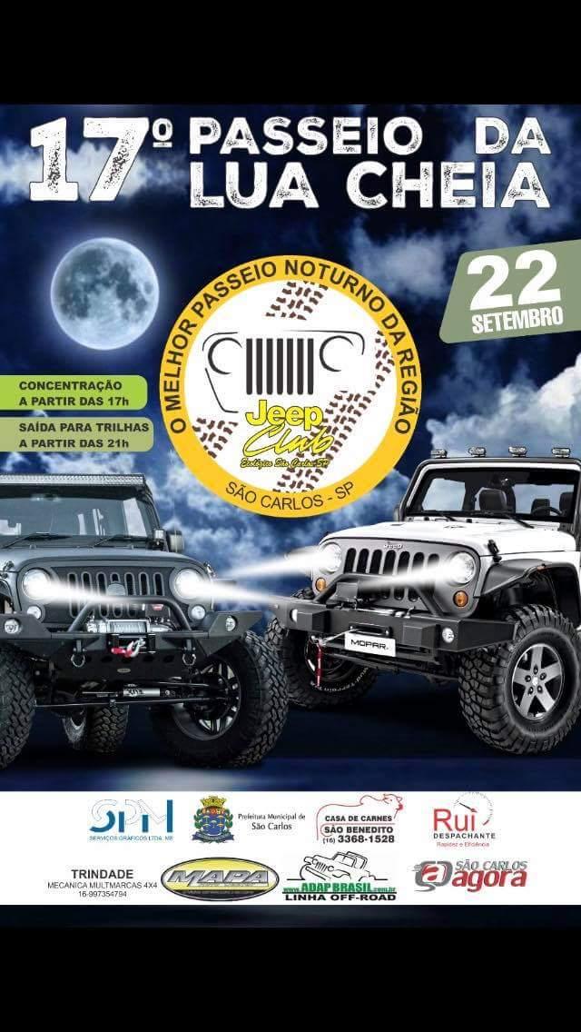 Passeio da Lua Cheia promete agitar o sábado (22) -