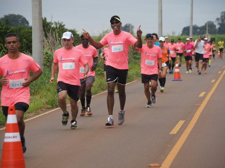 Meia Maratona vai agitar Água Vermelha e Santa Eudóxia - Crédito: Divulgação