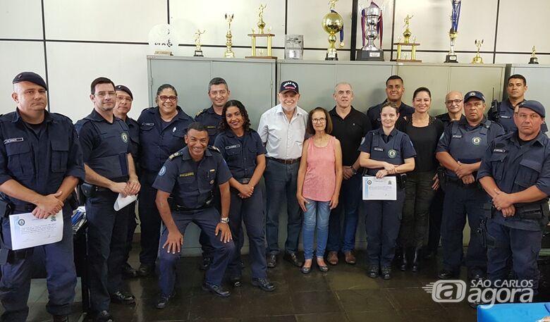 Guarda Municipal aborda funcionário de financeira em atitude suspeita - Crédito: Divulgação