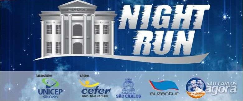 Corrida Night Run promete agitar o final de semana - Crédito: Divulgação