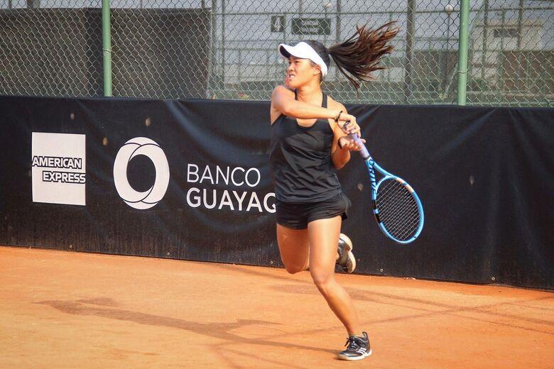 Pamela Wu da CFR conquista espaço no ranking do WTA - Crédito: Divulgação