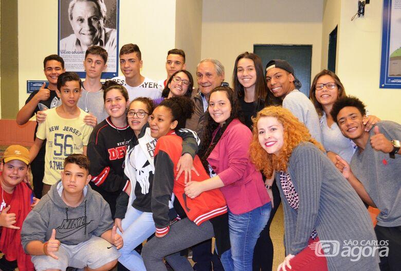 Ciência nas Escolas presta homenagem a Sylvio Goulart Rosa Júnior - Crédito: Divulgação
