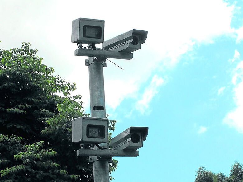 Dois radares fixos serão instalados em São Carlos - Crédito: Divulgação