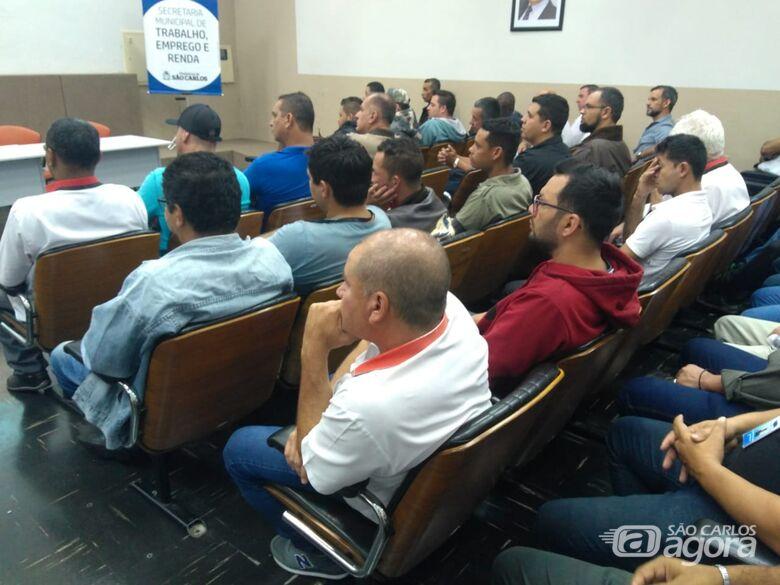 Suzantur São Carlos oferece treinamento para todos os motoristas da empresa - Crédito: Divulgação