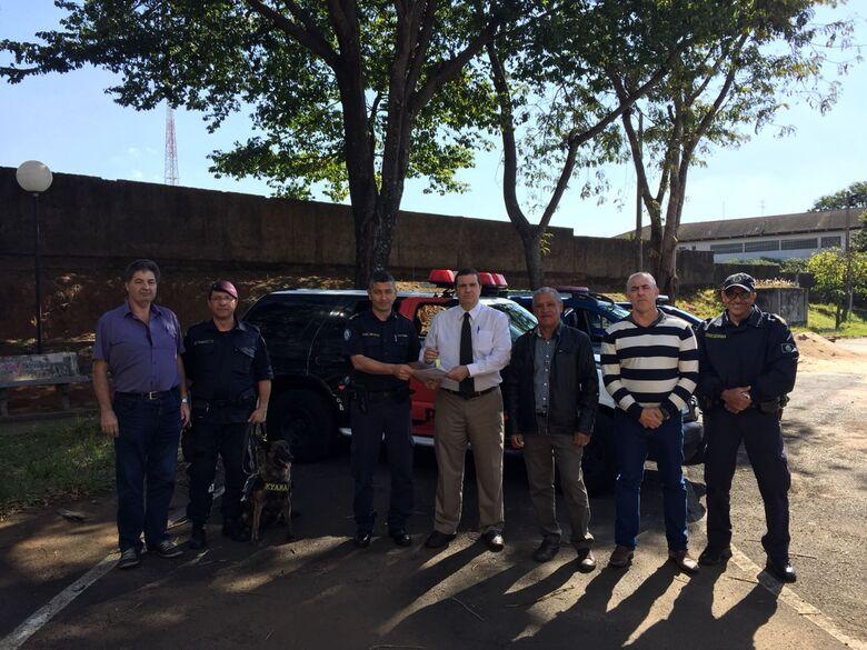 Polícia Civil doa viatura para a Guarda Municipal de São Carlos - Crédito: Divulgação
