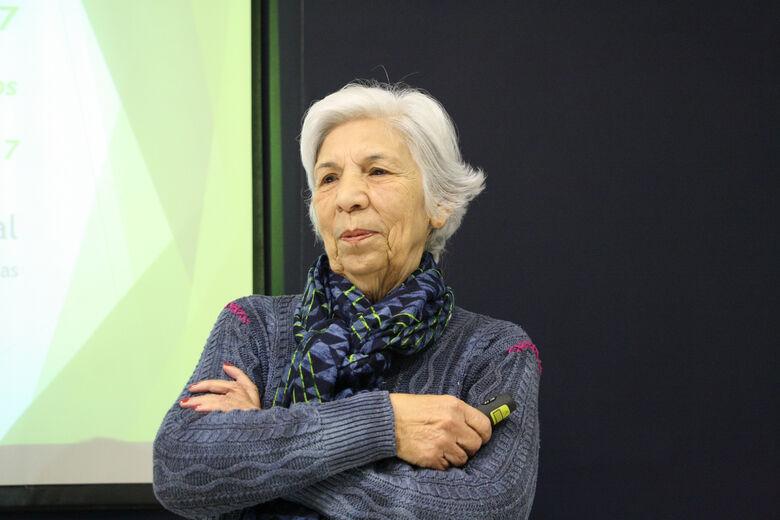 """""""Fofoquem sobre ciência"""", diz a profa. Yvonne Mascarenhas às vésperas de evento em São Carlos - Crédito: Divulgação"""