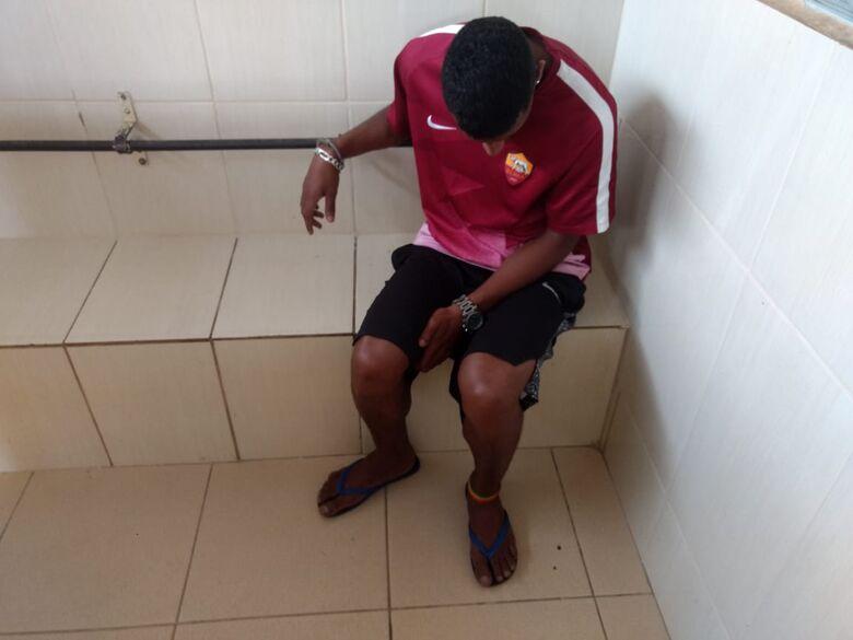 Desocupado é detido com crack e cocaína no Gonzaga - Crédito: Luciano Lopes