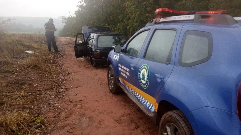 Patrulha ambiental localiza veículo furtado - Crédito: Divulgação/GM