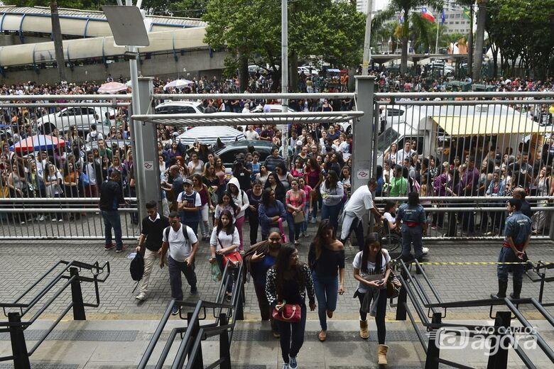 Mais de 4 milhões de estudantes já sabem onde farão o Enem - Crédito: Rosa Rovena/Agência Brasil