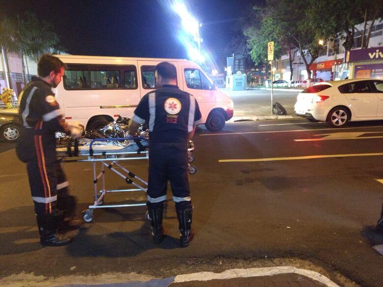 Morador de rua é atingido com uma tijolada na cabeça - Crédito: Luciano Lopes
