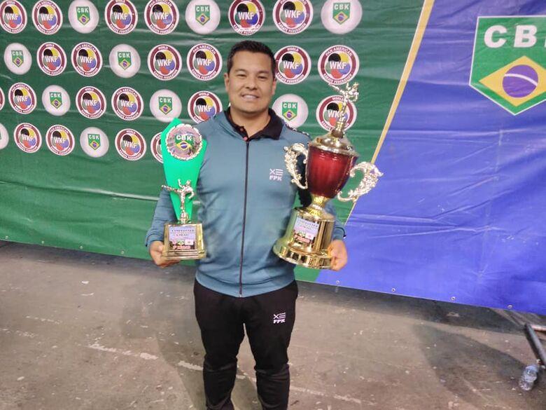 Adriano Wada é campeão brasileiro com a seleção paulista - Crédito: Divulgação