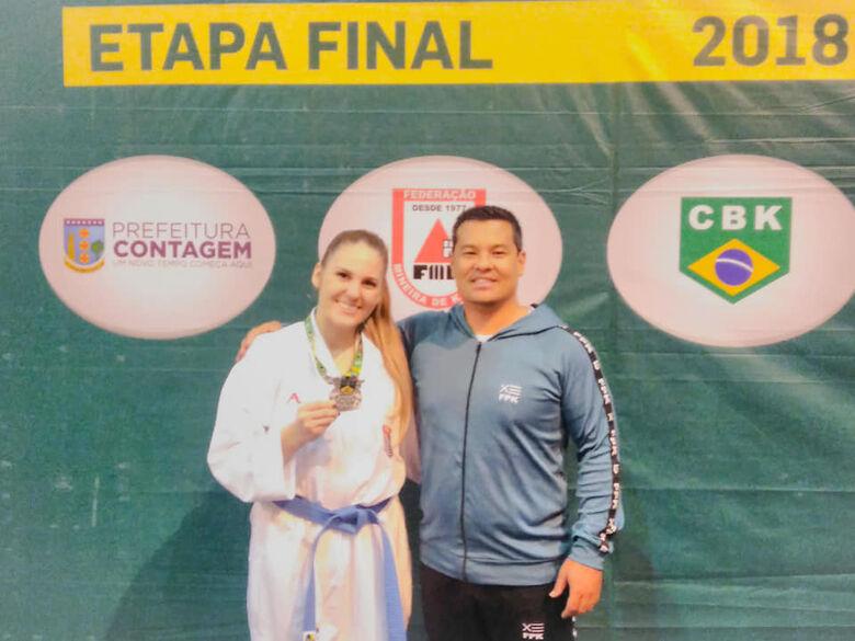 São-carlenses conquistam seis medalhas nas finais do Brasileiro de Karatê - Crédito: Divulgação