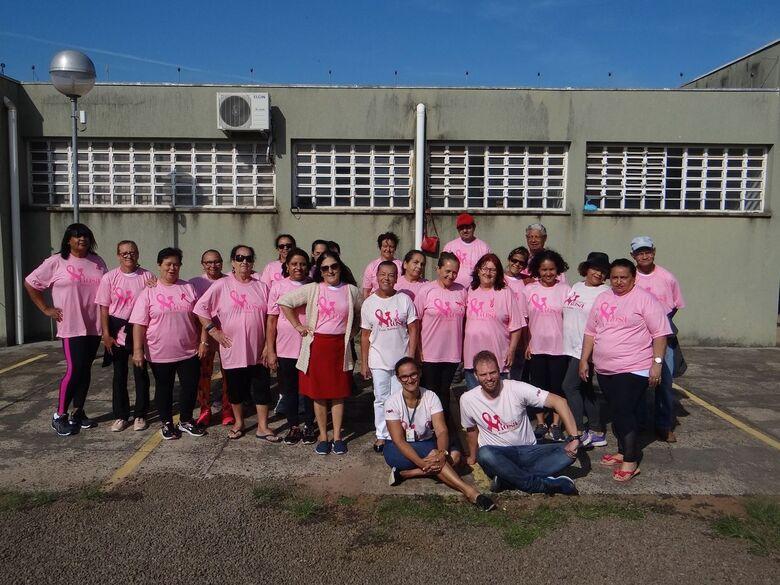 USF do Jockey realiza ação preventiva contra o câncer de mama - Crédito: Divulgação