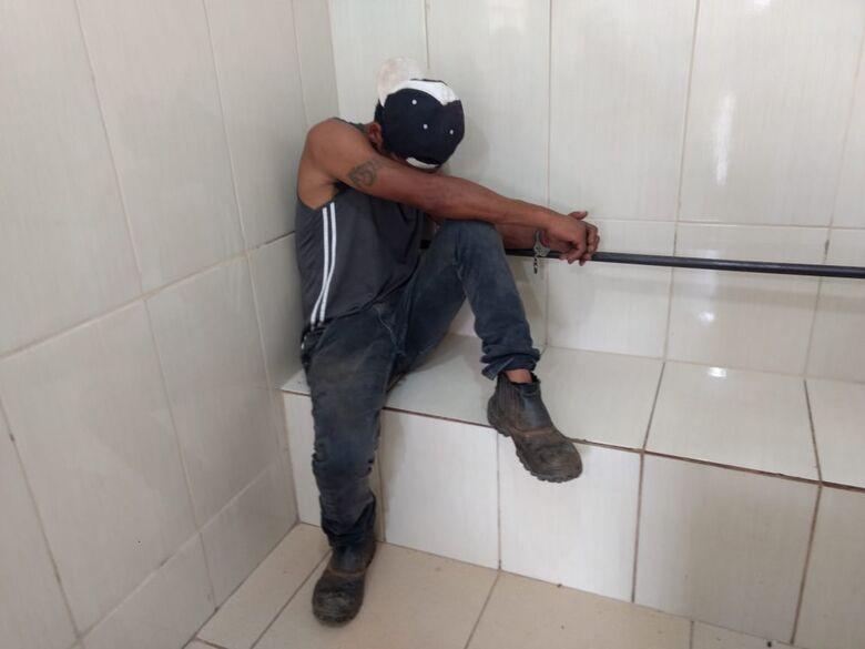 Procurado por roubo é detido em Ribeirão Bonito - Crédito: Luciano Lopes