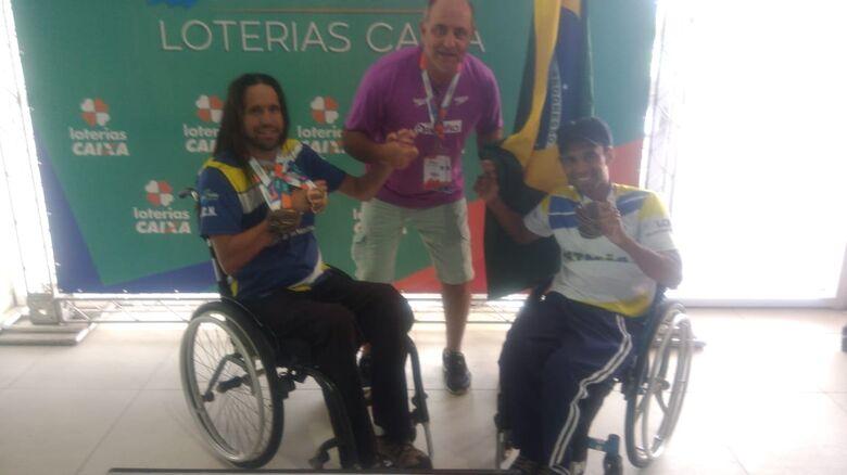 Atletas ACDs de São Carlos fecham Brasileiro com chave de ouro - Crédito: Divulgação