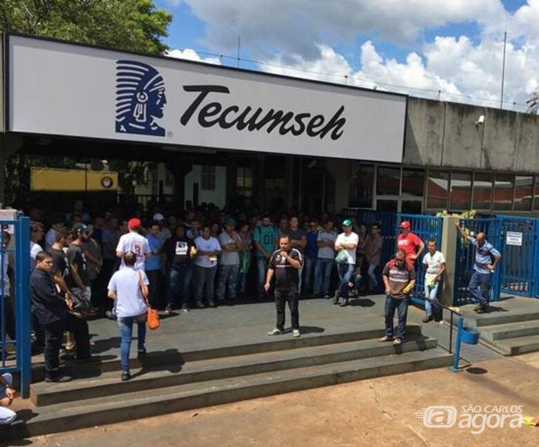 Demissão em massa é feita pela Tecumseh; 800 trabalhadores são colocados em férias - Crédito: Divulgação