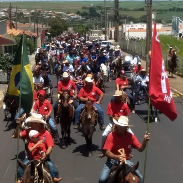 Cavalgada de São Francisco de Assis movimenta domingo em Ibaté - Crédito: Divulgação