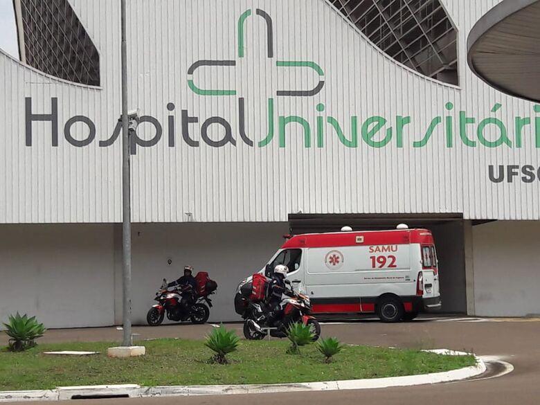 Socorristas do Samu salvam vida de bebê de um mês que estava engasgado - Crédito: Maycon Maximino