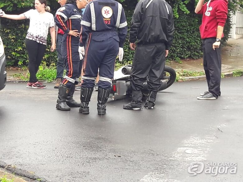 Acidente no Santa Felícia deixa uma pessoa ferida - Crédito: Maycon Maximino