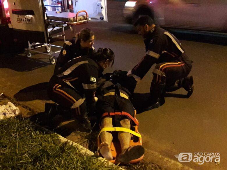 Homem é atropelado na região do Terminal Rodoviário - Crédito: Maycon Maximino