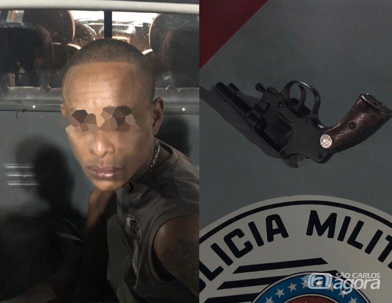 Rapaz é preso por porte ilegal de arma no Jardim Beatriz - Crédito: Arquivo/SCA