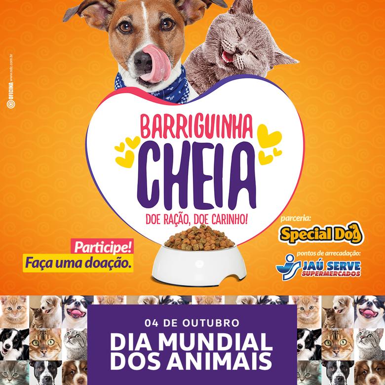 Quer ajudar os animais e ONGs do interior paulista? O Jaú Serve Supermercados e a Special Dog te explicam como -