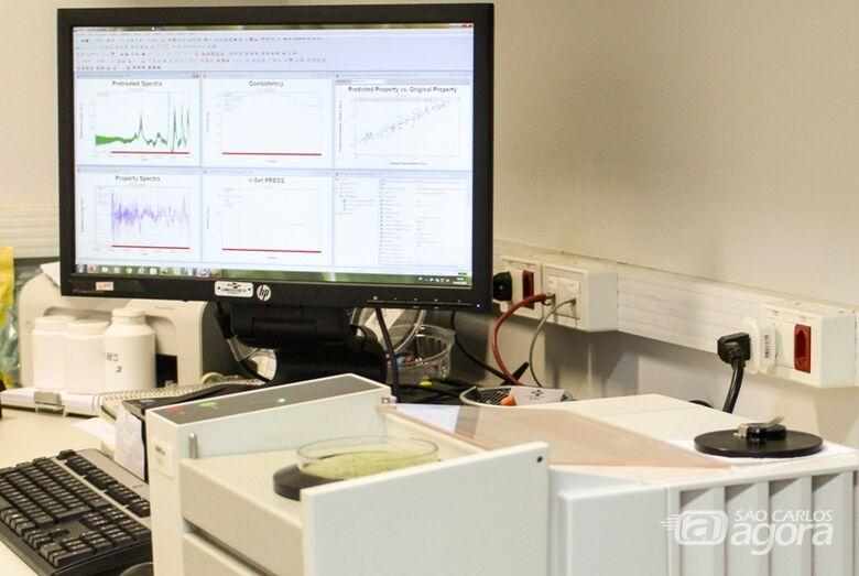 Embrapa São Carlos realiza curso com foco em espectroscopia - Crédito: Juliana Sussai