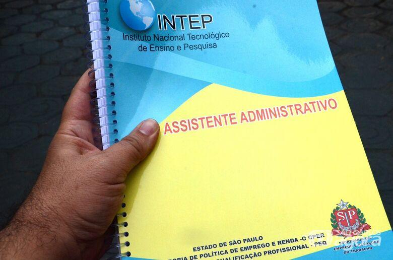 Abertas 60 vagas para curso de Assistente Administrativo - Crédito: Divulgação
