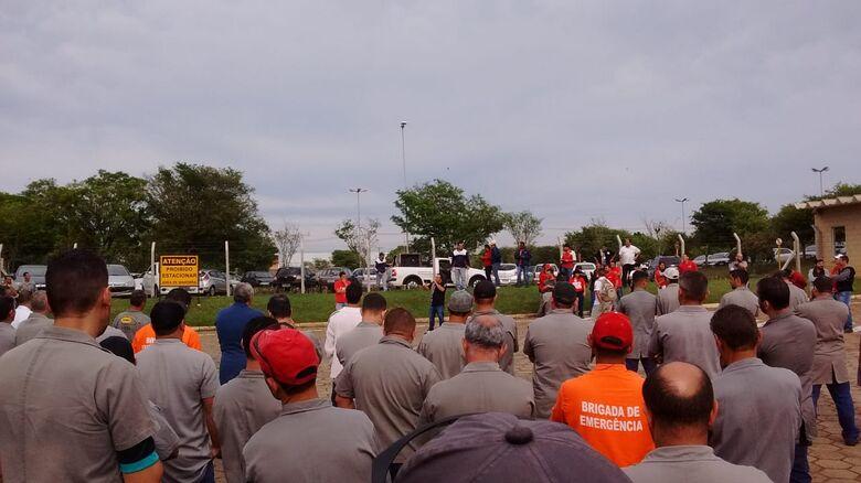 Funcionários da Tecumseh podem entrar em greve - Crédito: Colaborador/SCA