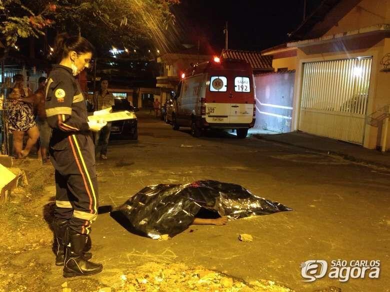 Jovem é encontrado morto na rua Bahia - Crédito: Luciano Lopes