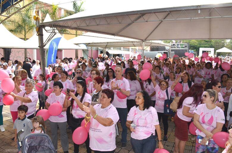 Fundo Social realiza Caminhada Outubro Rosa - Crédito: Divulgação
