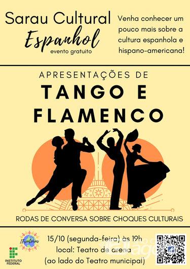 IFSP realiza o II Sarau Cultural Espanhol no Teatro de Arena em São Carlos -