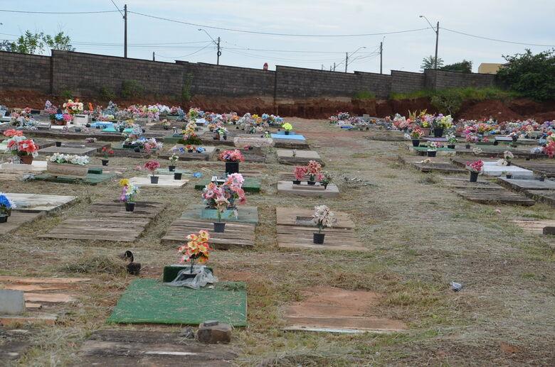 Para evitar proliferação do Aedes aegypti, Prefeitura faz limpeza nos cemitérios - Crédito: Divulgação