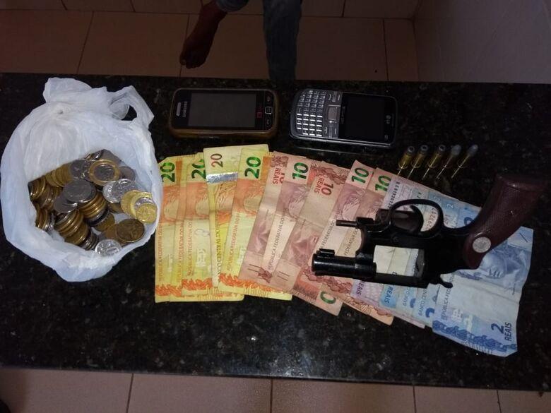 Homem é detido com revólver no Cidade Aracy - Crédito: Divulgação