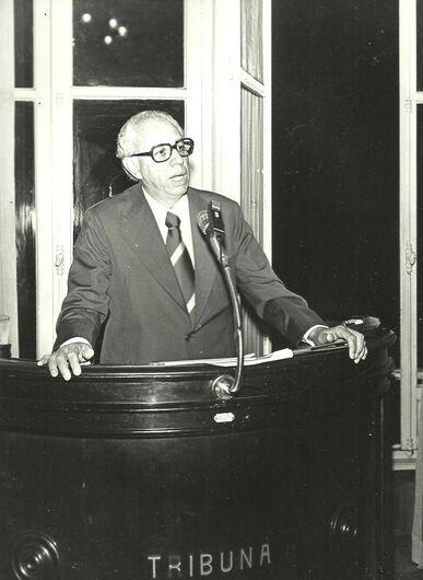 Dr. Álvaro Giongo, um ilustre vizinho - Crédito: Arquivo Câmara Municipal