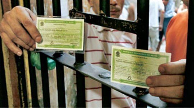 Eleitor não pode ser preso até a próxima terça-feira - Crédito: Divulgação