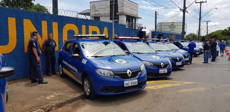 Prefeitura renova parte da frota da Guarda Municipal - Crédito: Divulgação