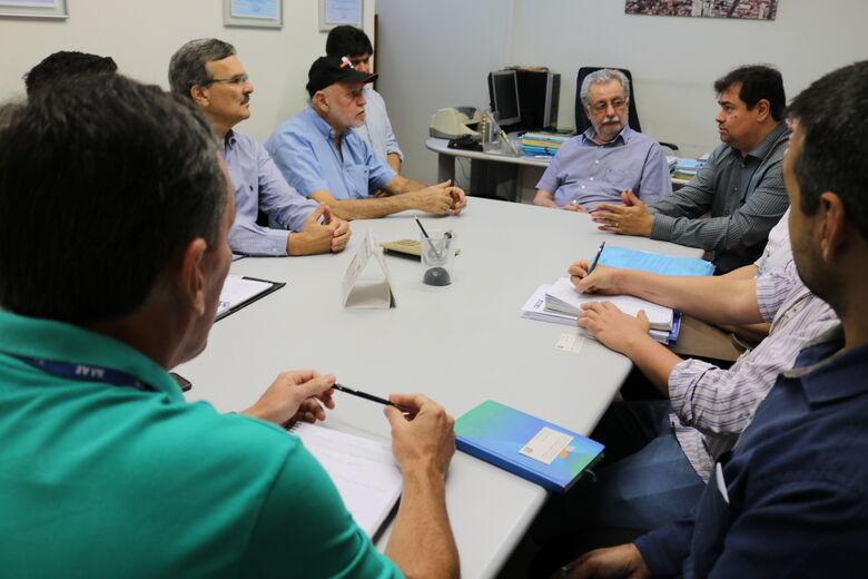 SAAE libera ordem de serviço para início das obras do segundo módulo da ETE Monjolinho - Crédito: Divulgação