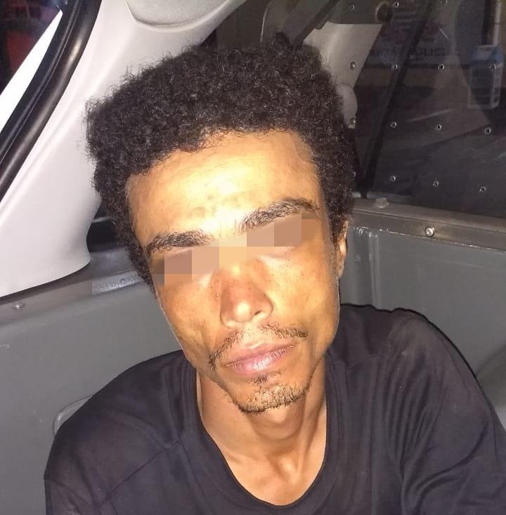 Desempregado é detido após furtar loja no centro - Crédito: Divulgação/PM